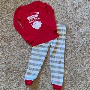 Carters Christmas pajamas 4t